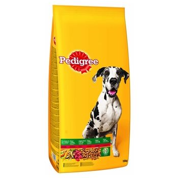PEDIGREE SUCHY ADULT LARGE DOG WOŁOWINA 15 KG